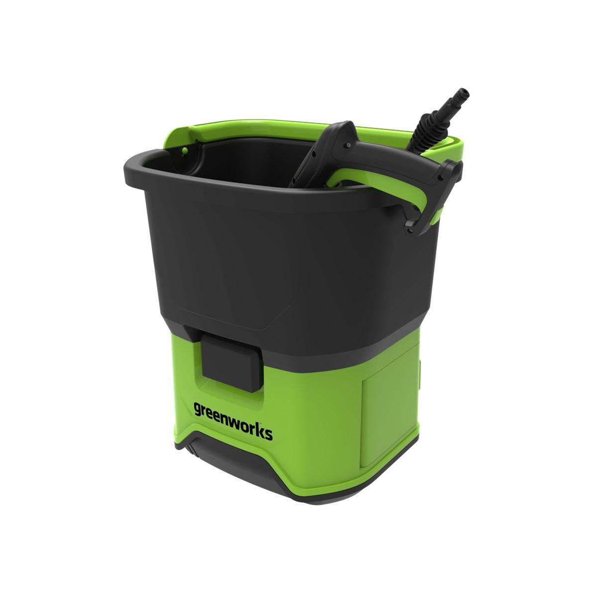 Greenworks GDC60, aku 60 V vysokotlakový čistič 70 bar