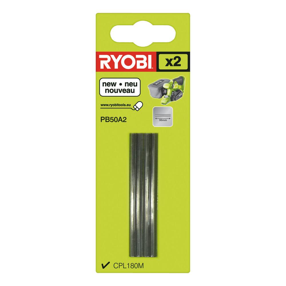 Ryobi PB 50 A2, sada nožov do hoblíka (2 ks) CPL 180 MHG