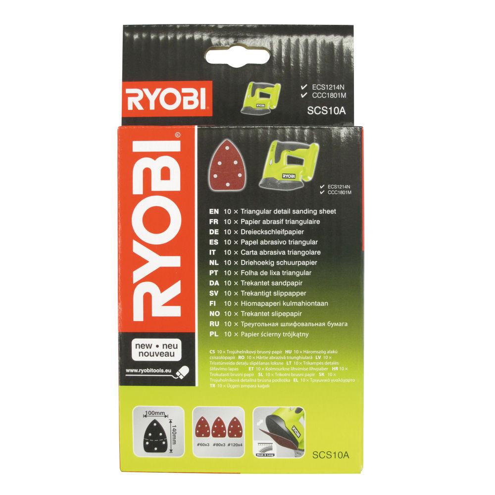 Ryobi SCS 10 A1, sada brúsnych papierov pre ECS1214, CCC 1801 MHG