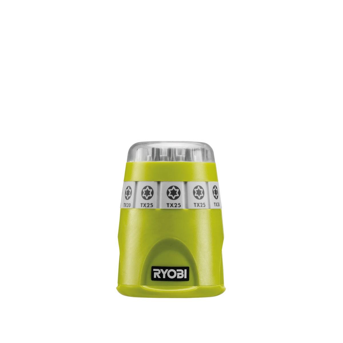 Ryobi RAK10TSD, 10ti dílná sada šroubovacích bitů TORX