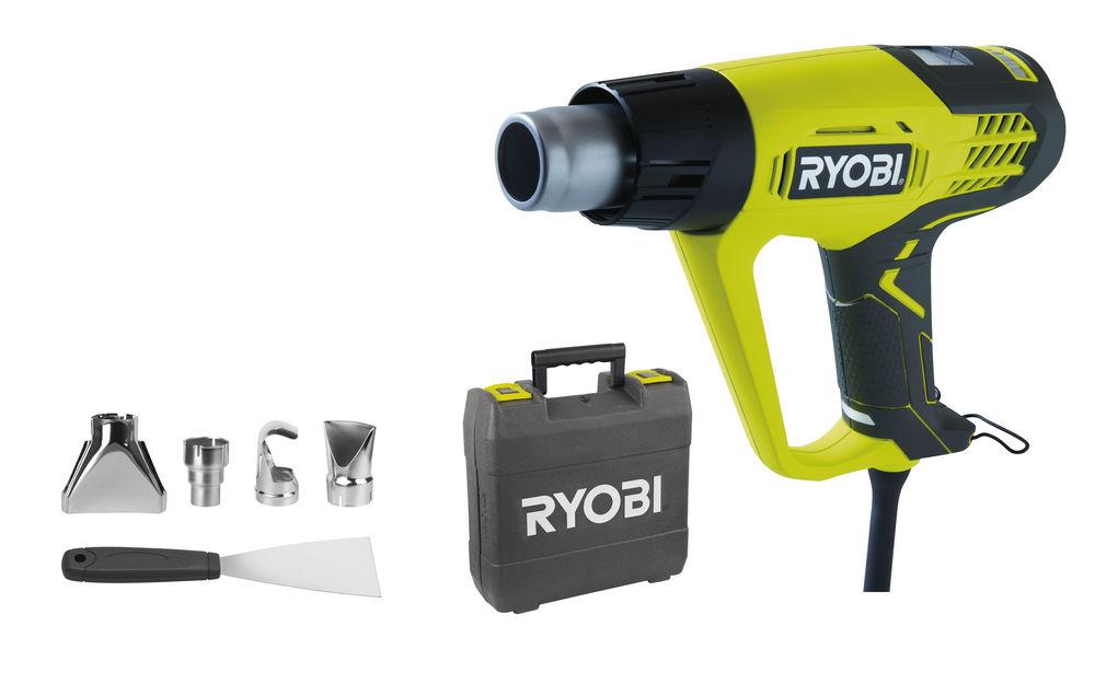 Ryobi EHG 2020 LCD, teplovzdušná pištoľ s LCD displejom 2000 W
