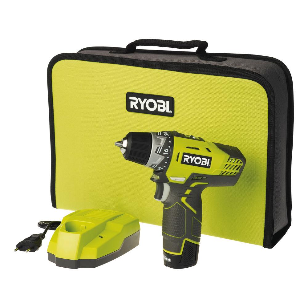 Ryobi R12DD-L13S, 12 V aku dvojrýchlostný skrutkovač / vŕtačka