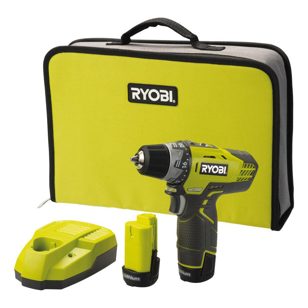 Ryobi R12DD-LL13S, 12 V aku dvojrýchlostný skrutkovač / vŕtačka