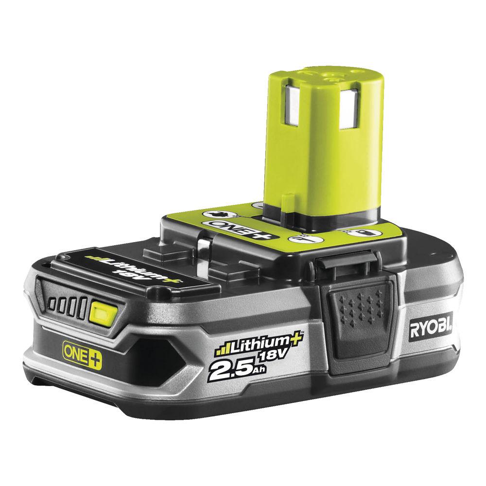 Ryobi RB18 L25, 18 V lithium iónová batérie 2,5 Ah