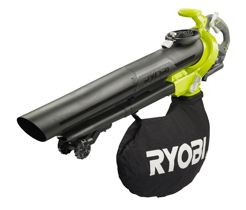 Ryobi RBV36B, aku 36V bezuhlíkový vysavač / foukač(bez baterie a nabíječky)
