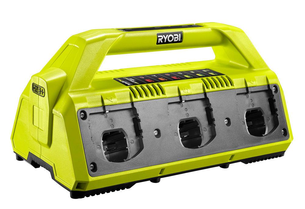 Ryobi RC18-627, 18V nabíječka s šesti porty ONE+