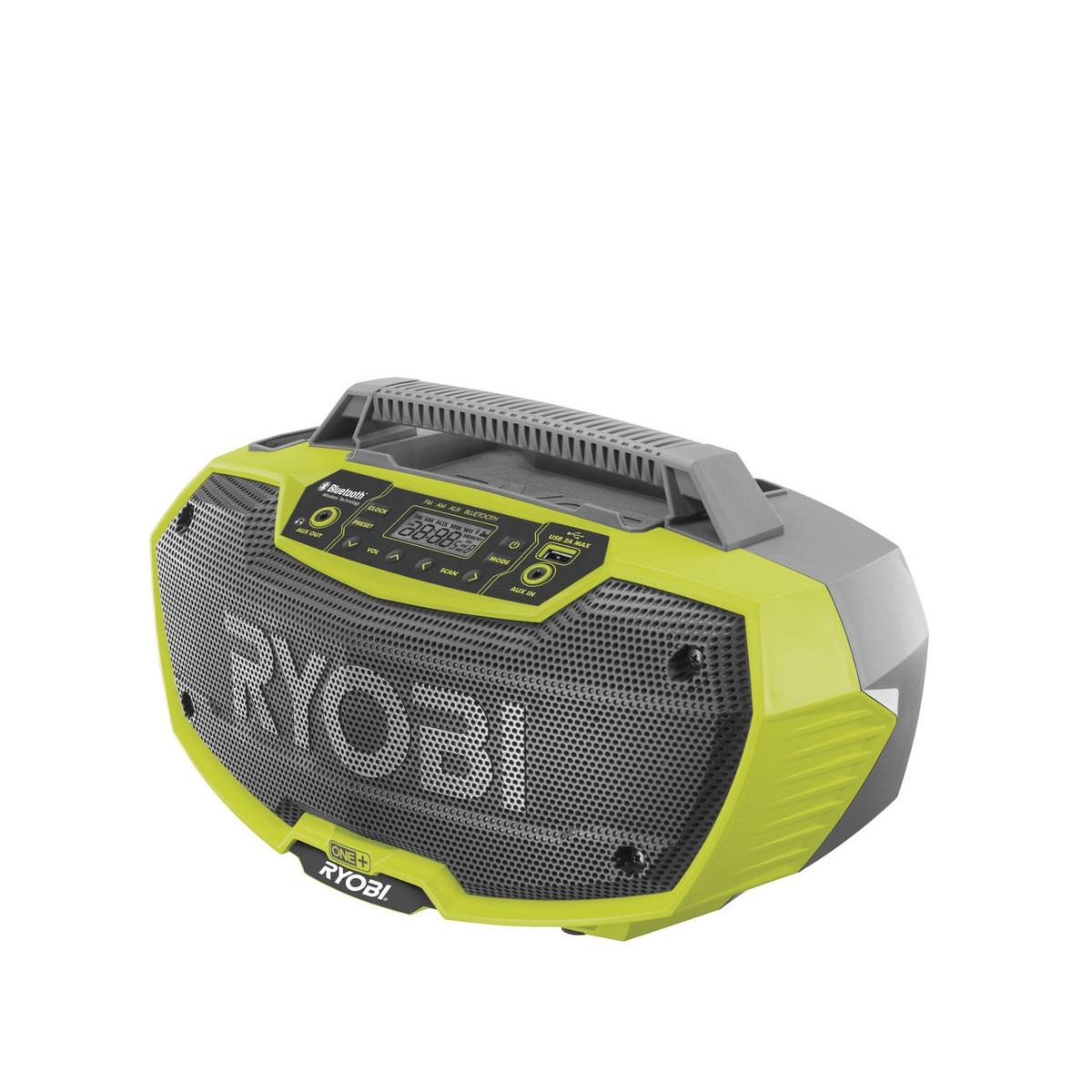 Ryobi R18RH-0, aku 18 V rádio s Bluetooth ONE+(bez baterie a nabíječky)
