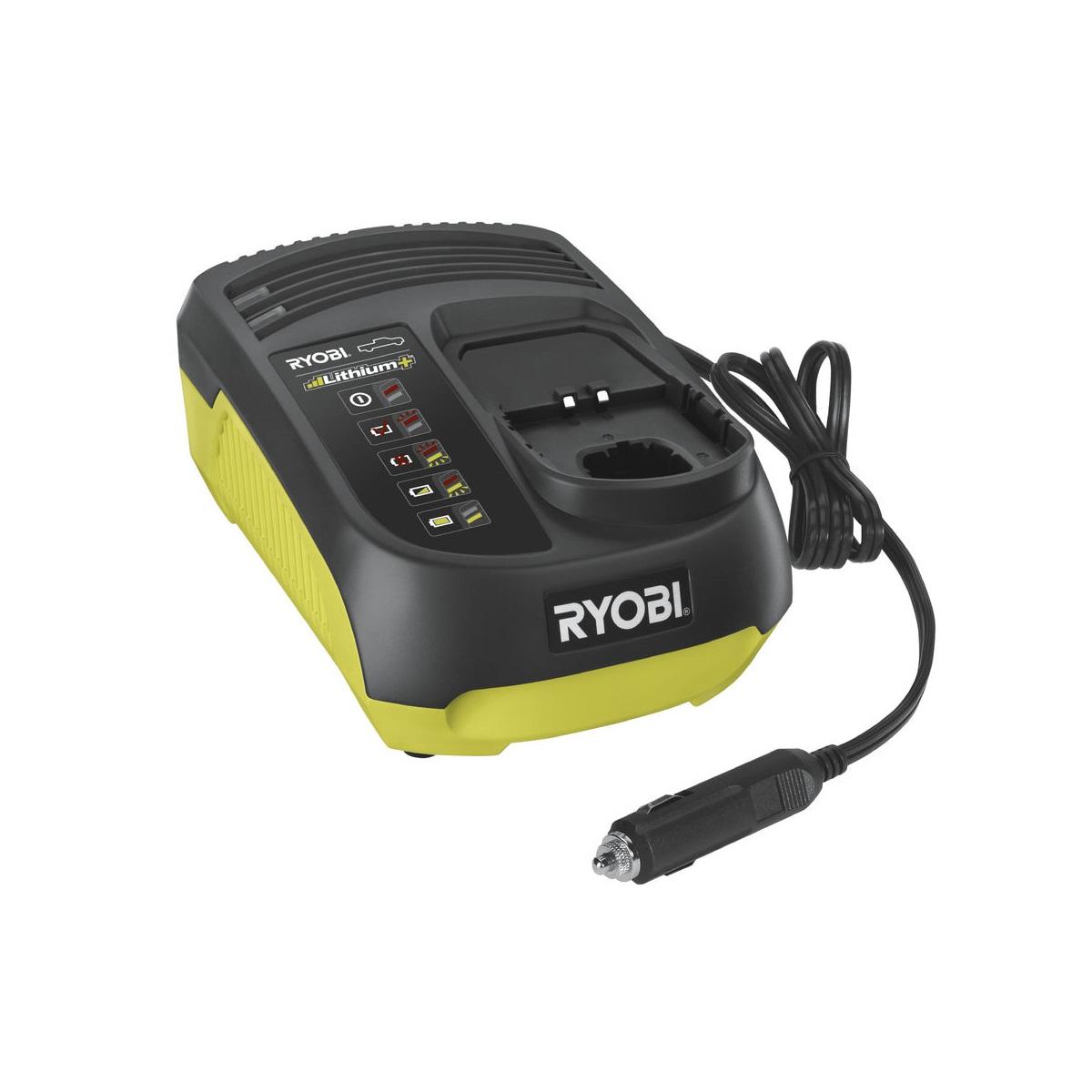 Ryobi RC18118C, 18V univerzální nabíječka do auta ONE+