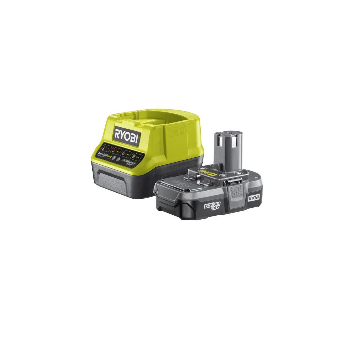 Ryobi RC18120-113, sada 18 V lithium iontová baterie 1,3 Ah s nabíječkou RC18120 ONE+