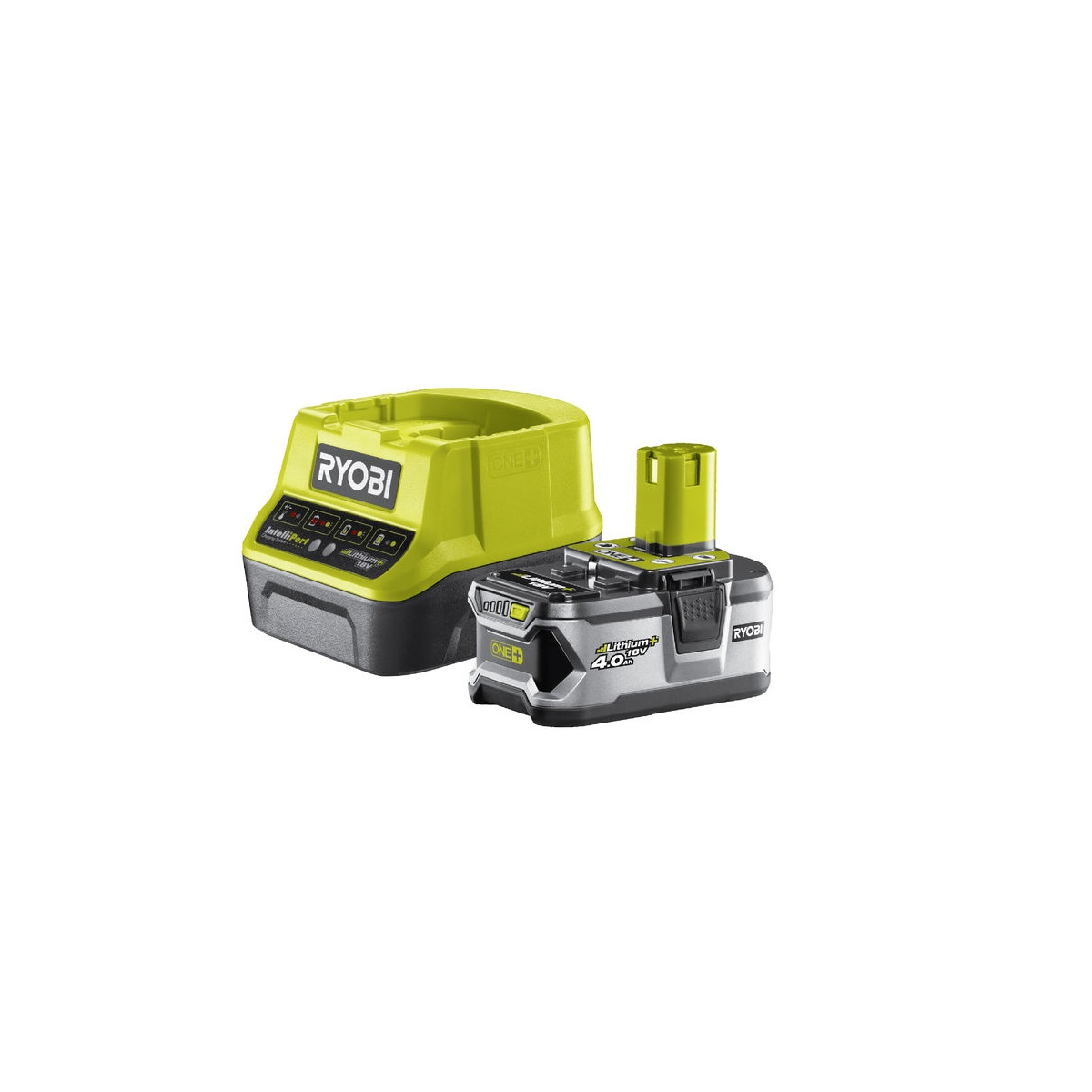 Ryobi RC18120-140, sada 18 V lithium iontová baterie 4 Ah s nabíječkou RC18120 ONE+