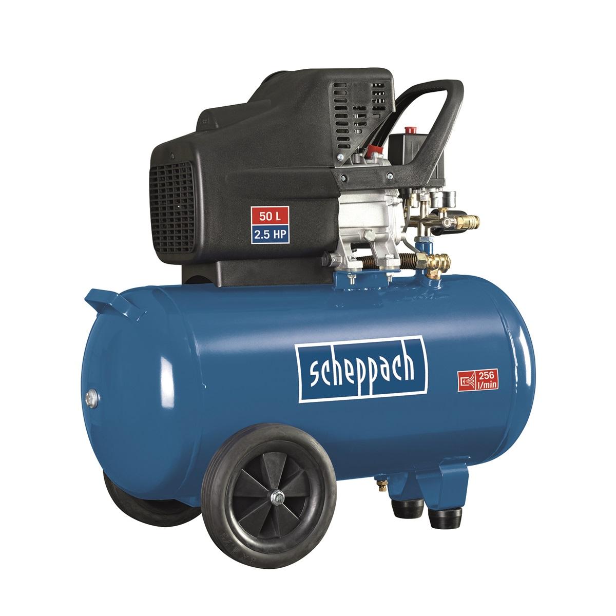 Scheppach HC 51, olejový kompresor 50 l