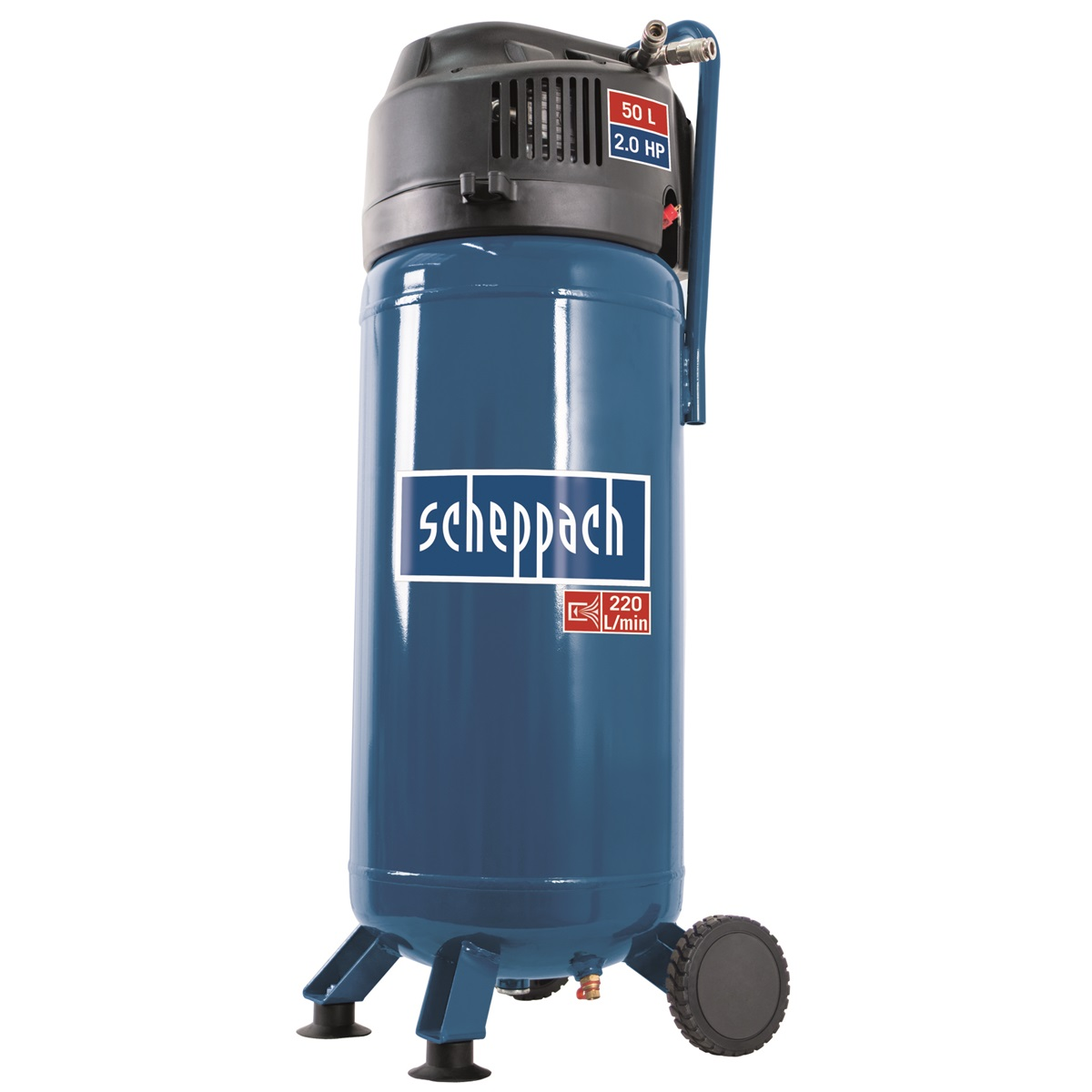 Scheppach HC 51 V, bezolejový vertikálný kompresor 50 l