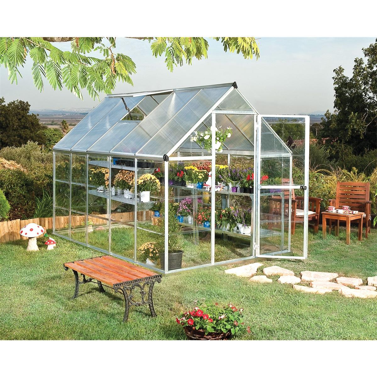 Palram hybrid 6x10, polykarbonátový skleník