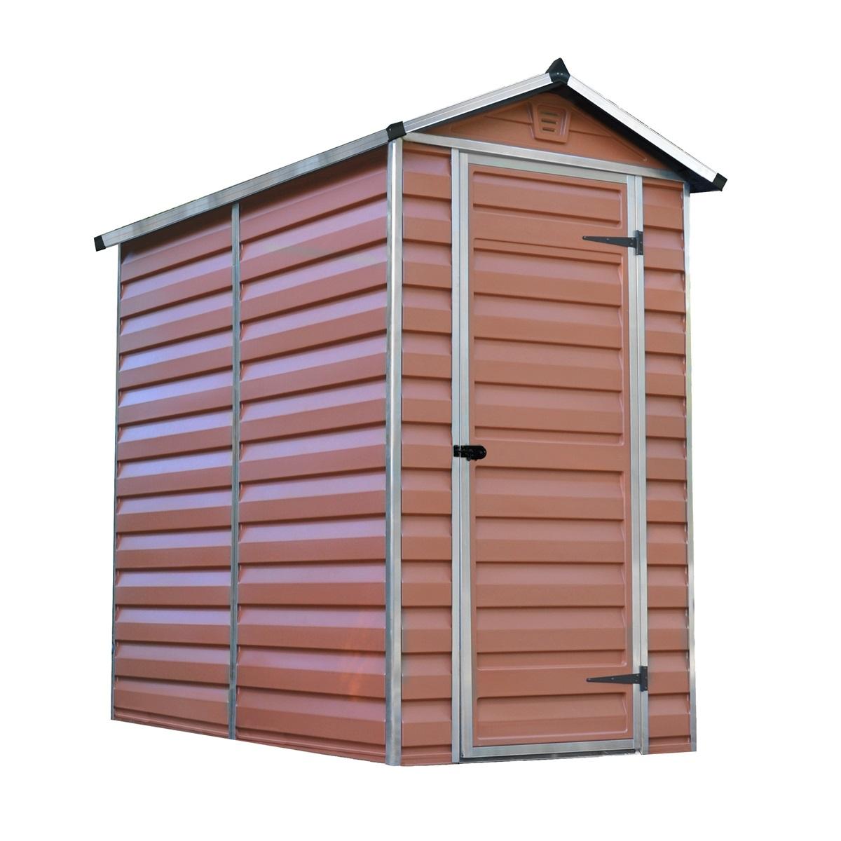 Palram Skylight 4x6 hnedý, záhradný domček