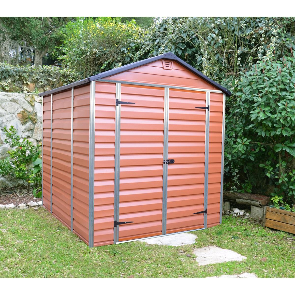Palram Skylight 6x8 hnedý, záhradný domček