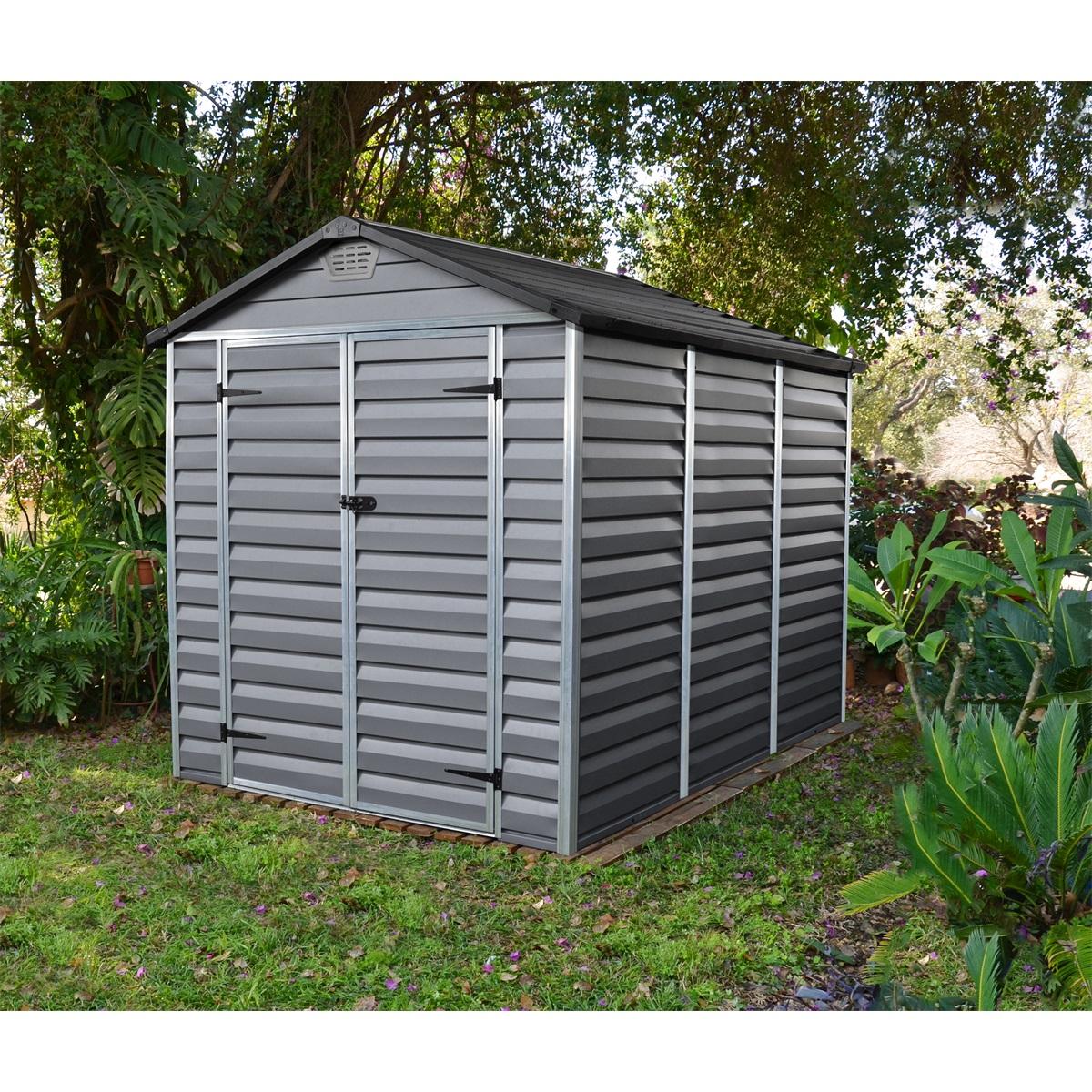 Palram Skylight 6x8 šedý, záhradný domček