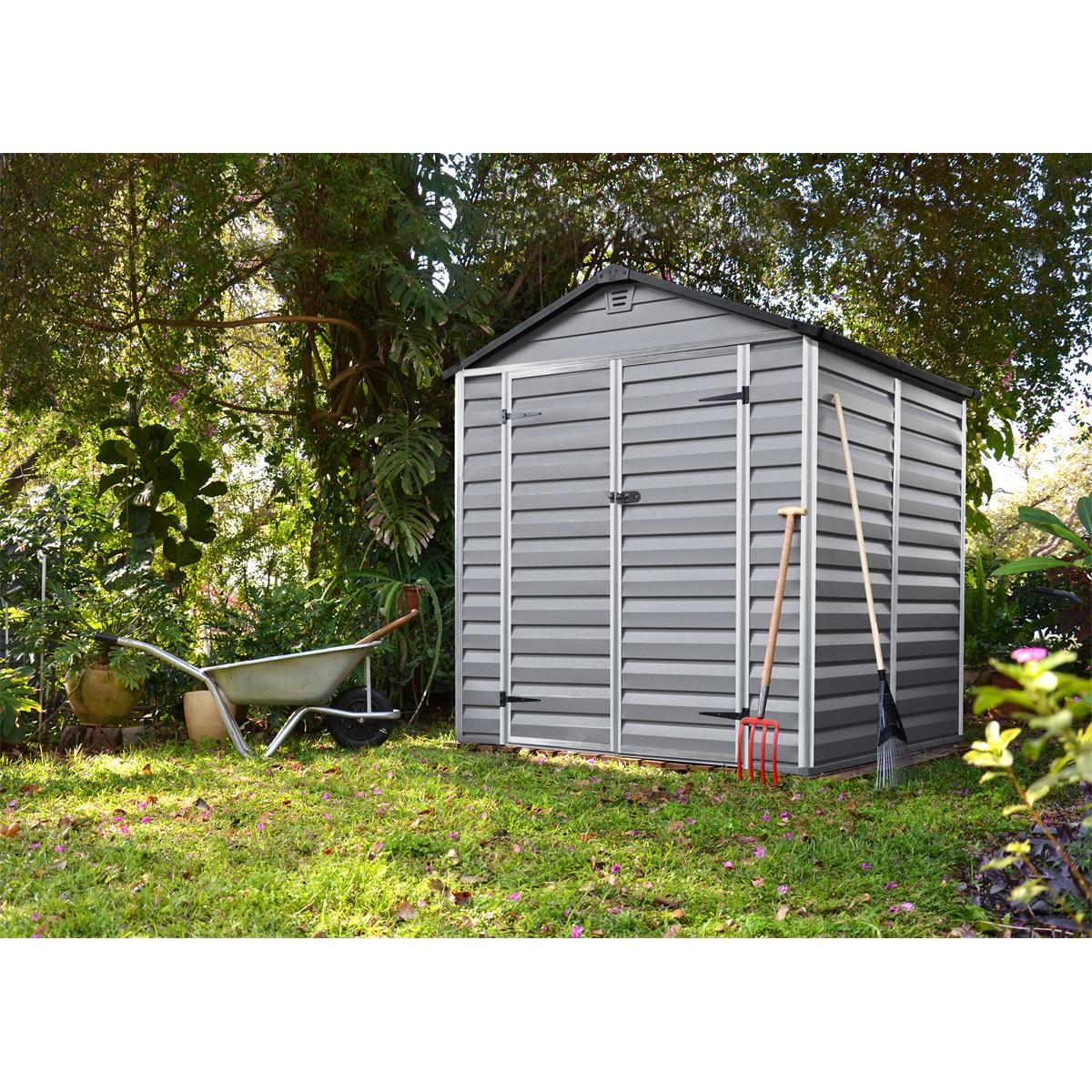 Palram Skylight 6x5 šedý, záhradný domček
