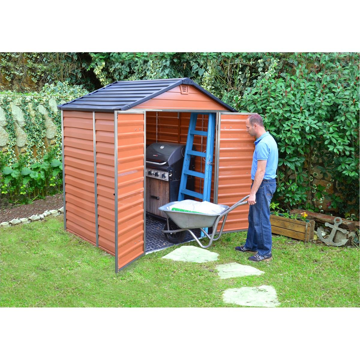 Palram Skylight 6x5 hnedý, záhradný domček