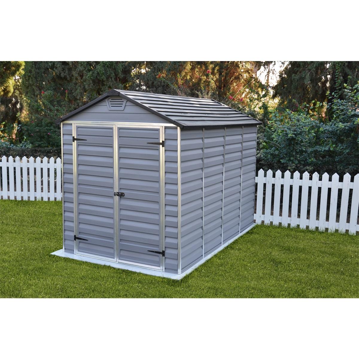 Palram Skylight 6x10 šedý, záhradný domček