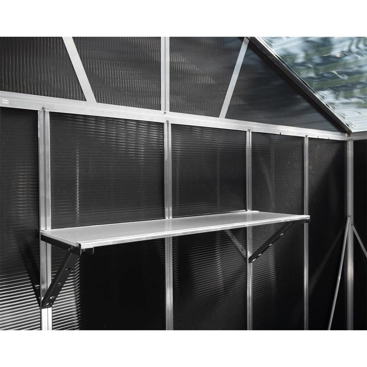 Palram Skylight Utility Shelf, praktická závěsná police pro domky série Yukon 11