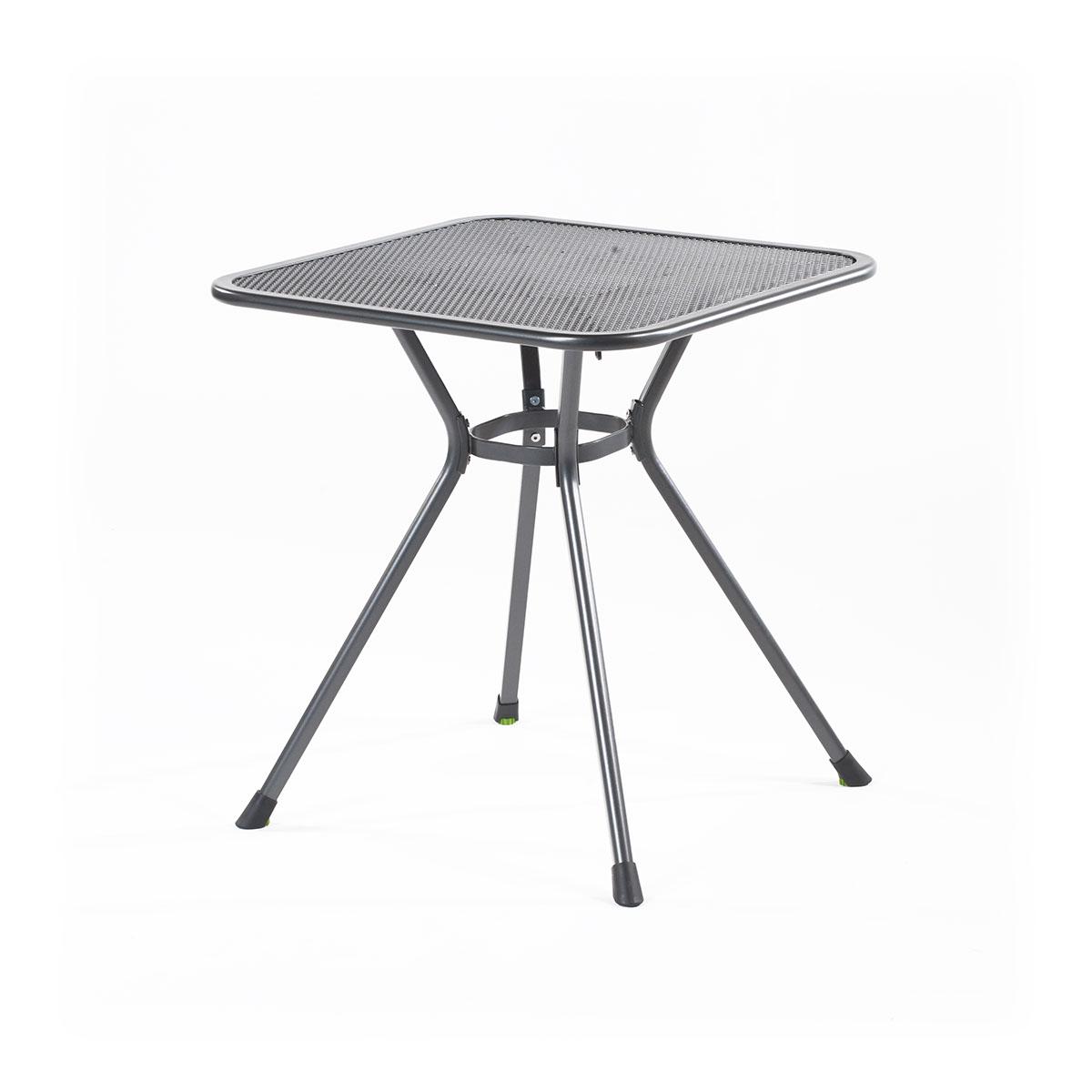 MWH Tavio 70, malý stůl z tahokovu 70 x 70 x 74 cm
