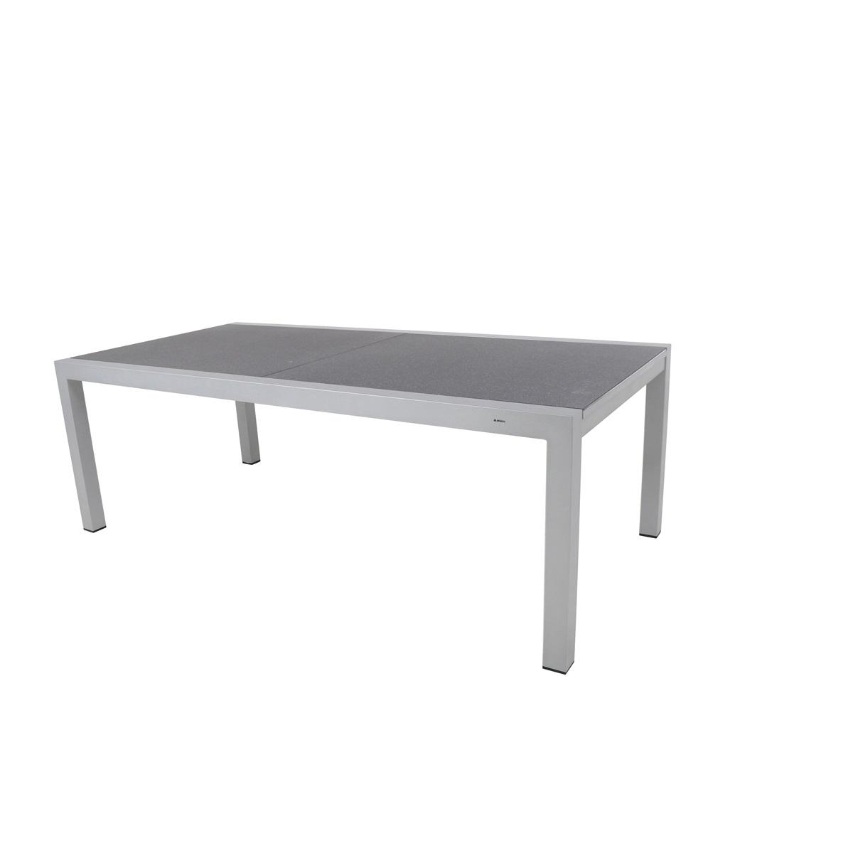 MWH Extendo Creatop-Lite, rozkládací hliníkový stůl 220-340 x 106,5 x 74 cm