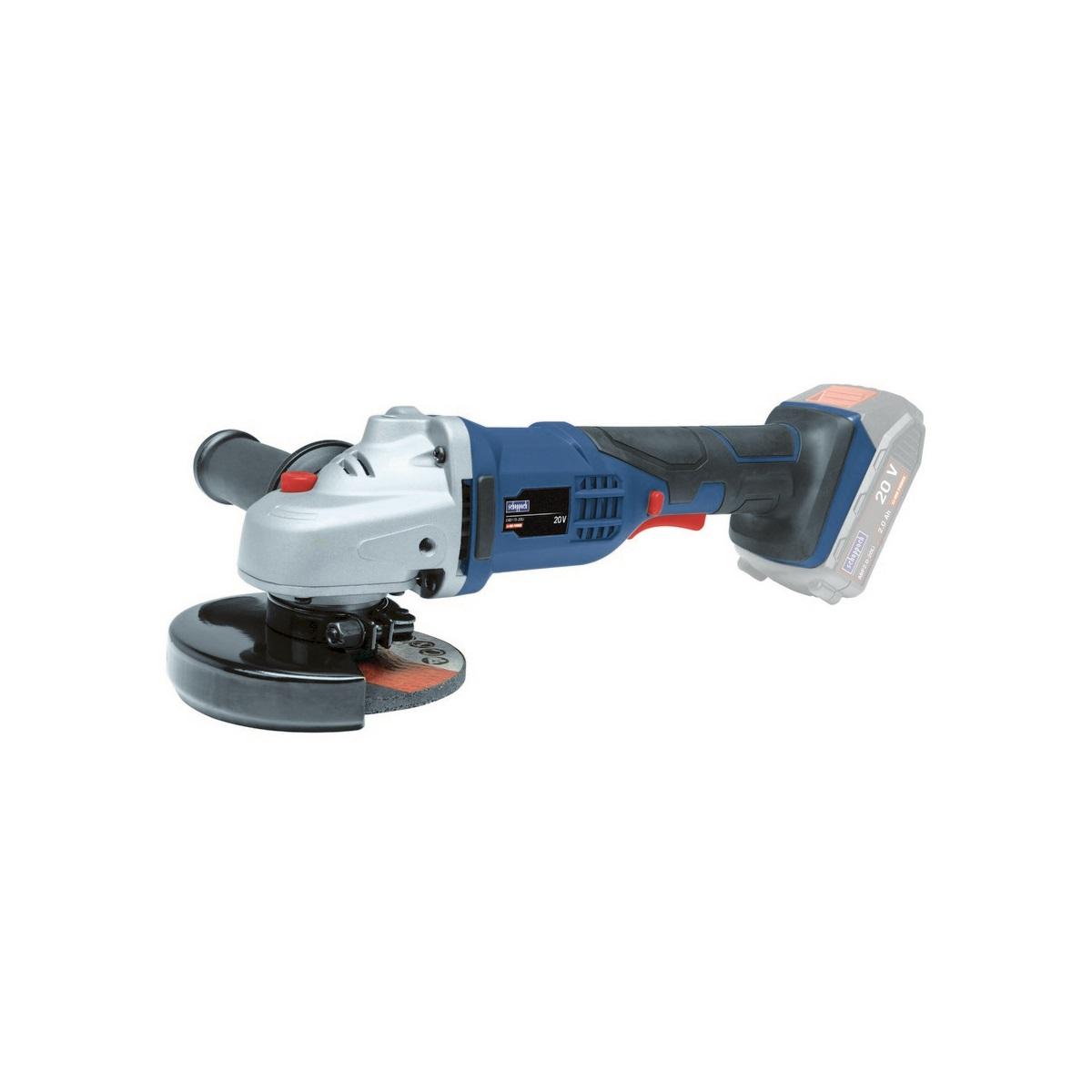 Scheppach CAD115-20Li, aku 20 V úhlová bruska 115 mm