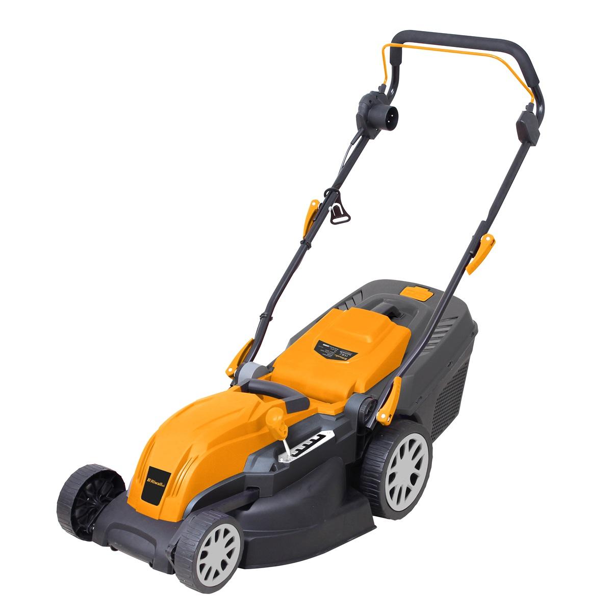Riwall PRO REM 3817, trávna kosačka s elektrickým motorom 2 v 1