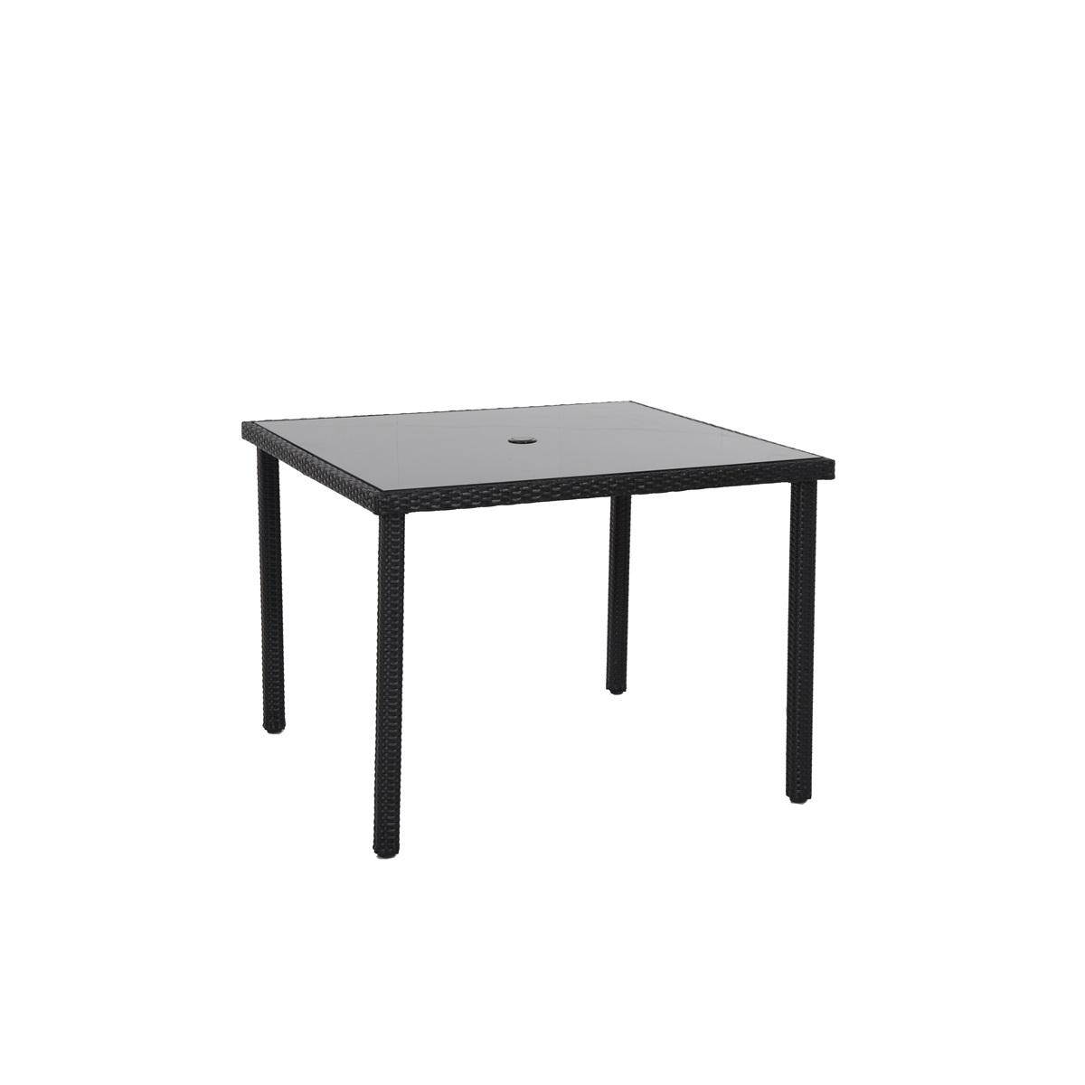 Creador Wicke 100, stůl s ratanovým výpletem