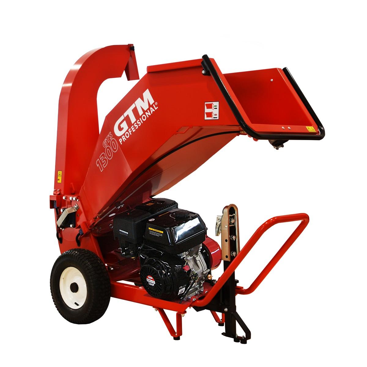 GTM GTS 1300G, drtič dřeva s benzinovým motorem
