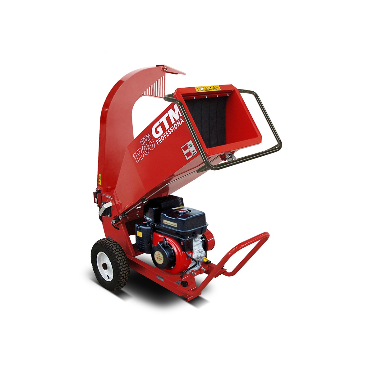 GTM GTS 1300M, drtič dřeva s benzinovým motorem
