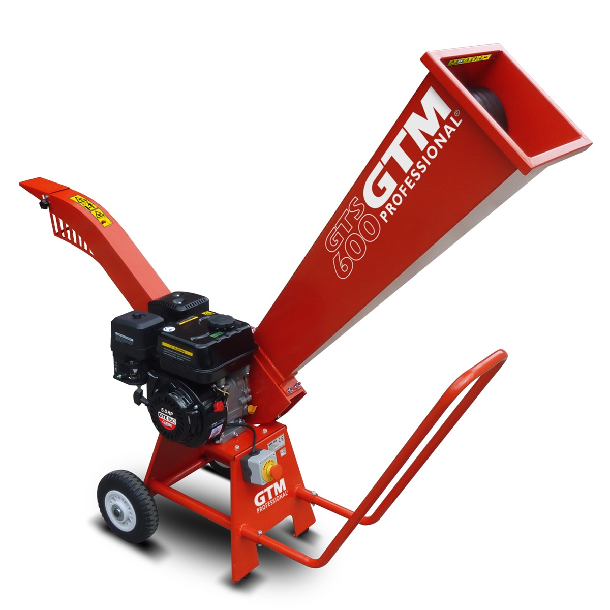 GTM GTS 600, drtič dřeva s benzinovým motorem