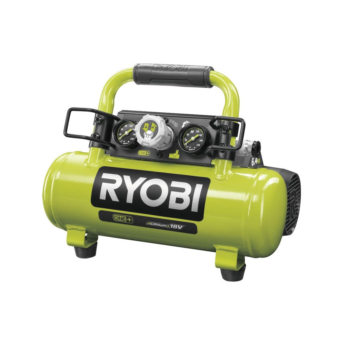 Ryobi R18AC-0, aku kompresor ONE+ (bez baterie a nabíječky)