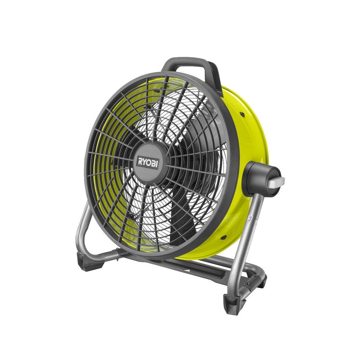 Ryobi R18F5-0, aku ventilátor ONE+(bez baterie a nabíječky)
