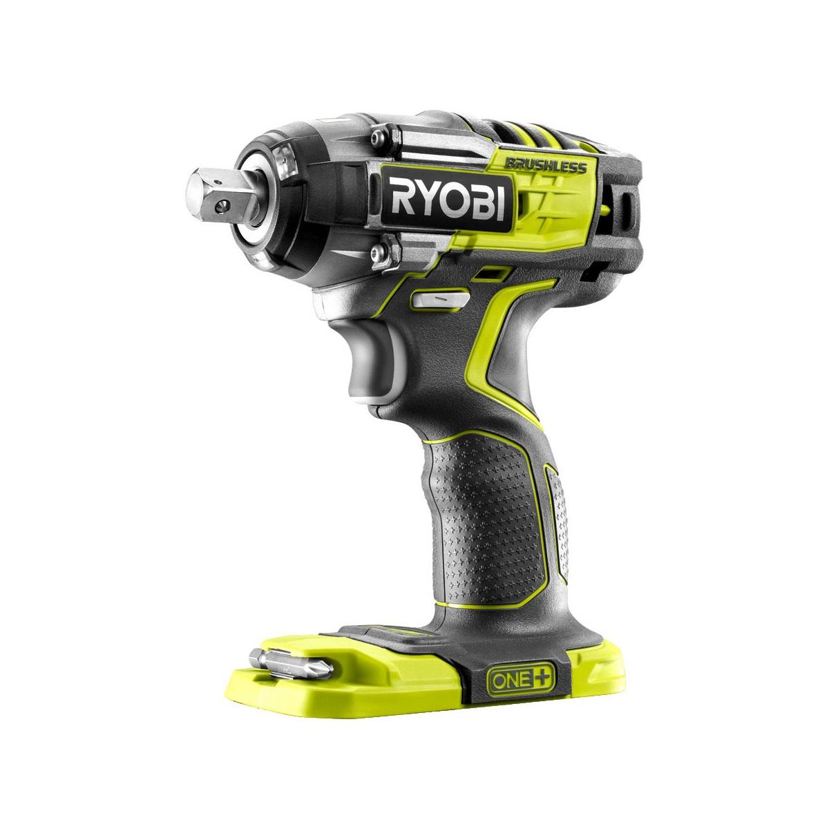 Ryobi R18IW7-0, aku bezuhlíkový rázový utahovák ONE+(bez baterie a nabíječky)
