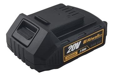 Riwall PRO RAB 220, bateria 20 V (2 Ah)