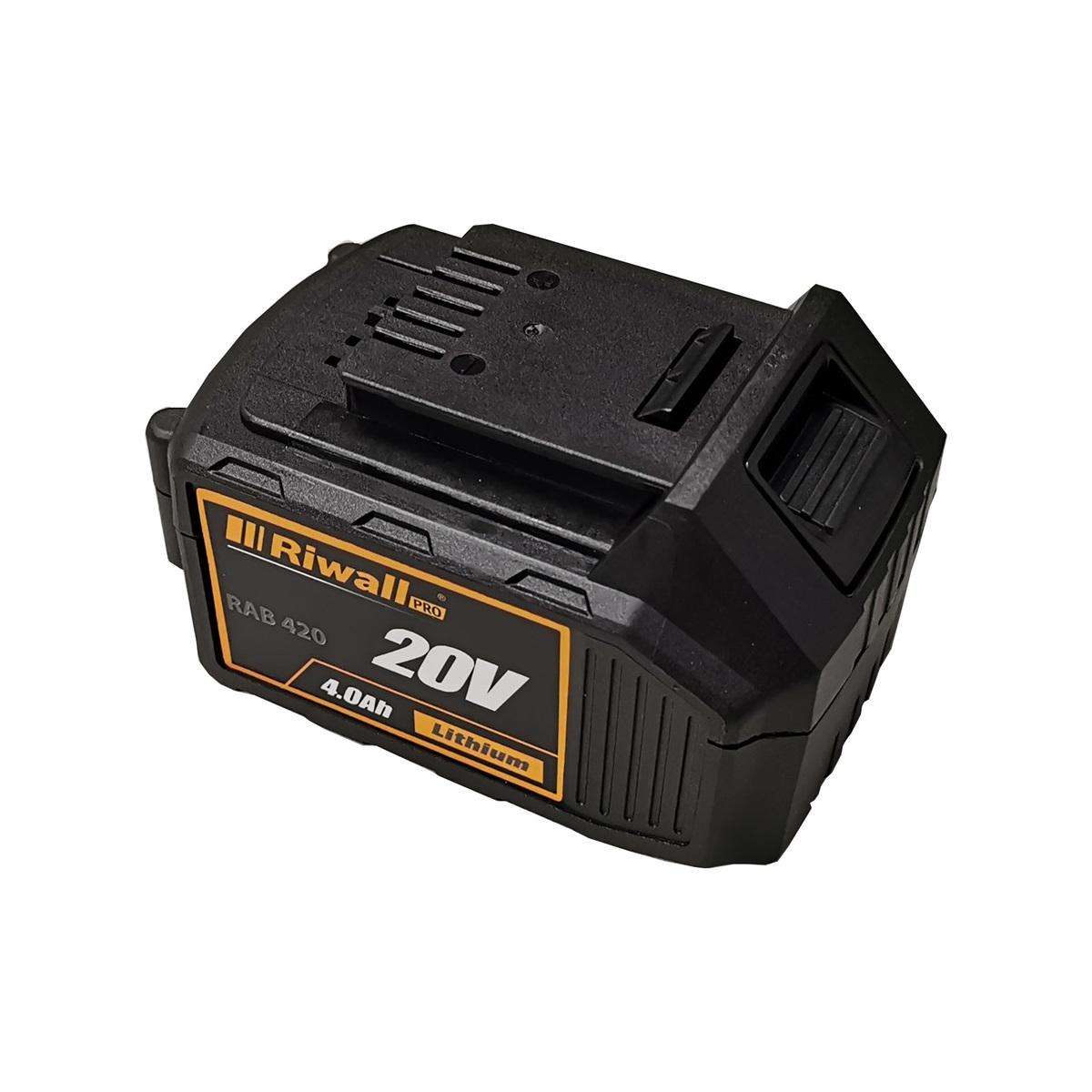 Riwall PRO RAB 420, bateria 20 V (4 Ah)