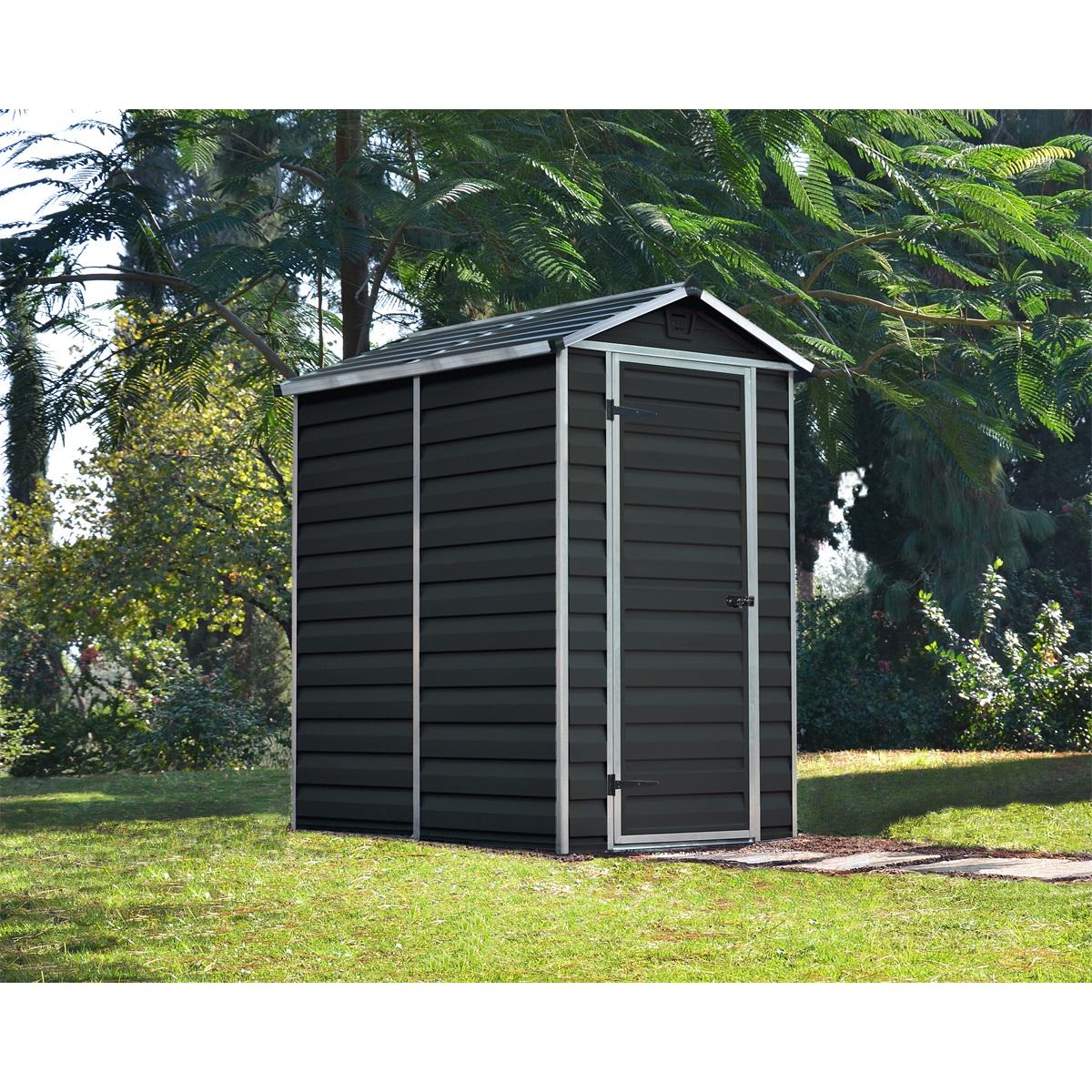 Palram Skylight 4x6 antracit, záhradný domček