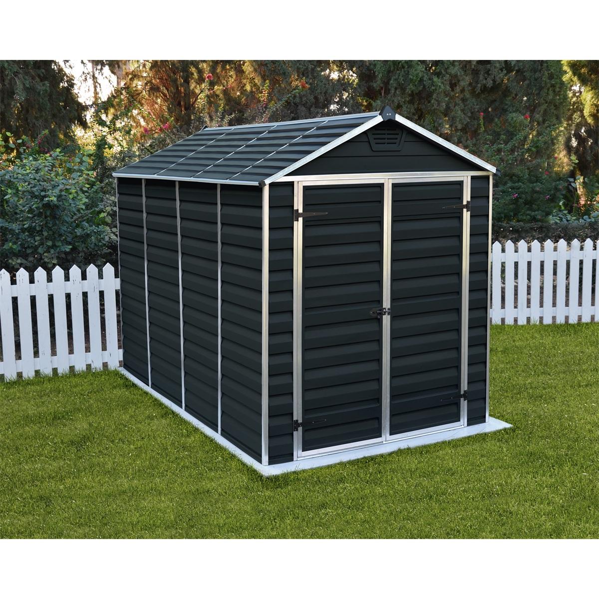 Palram Skylight 6x10 antracit, záhradný domček
