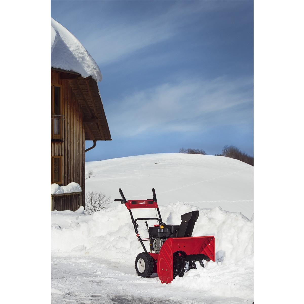 MTD SMART M 61, dvoustupňová sněhová fréza
