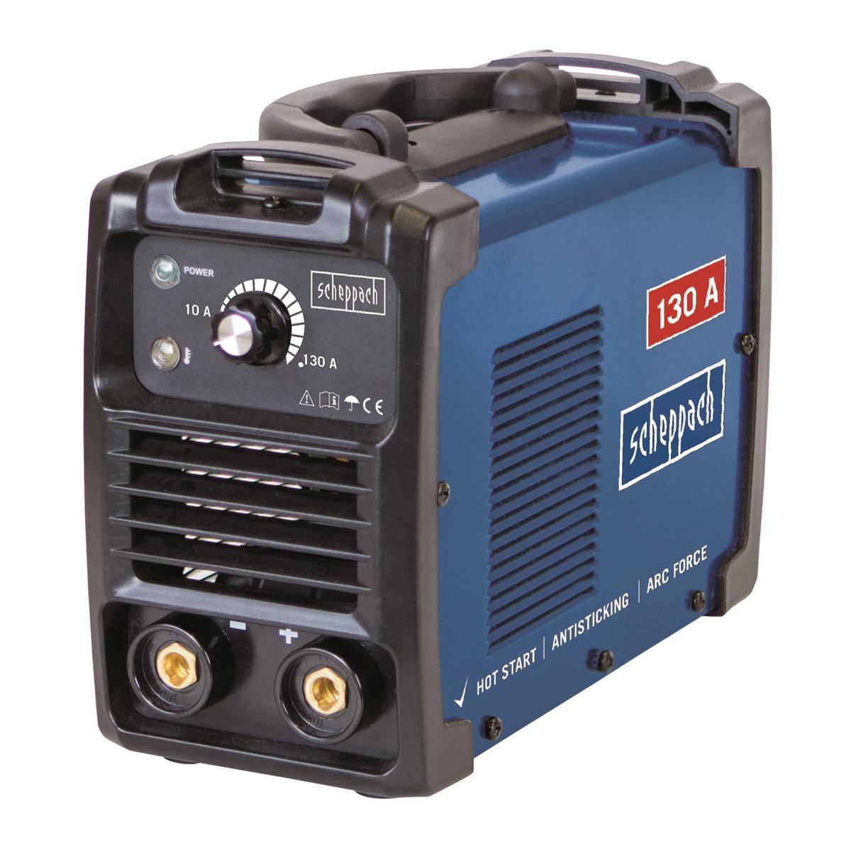 Scheppach WSE1000, svářecí invertor 130 A s příslušenstvím