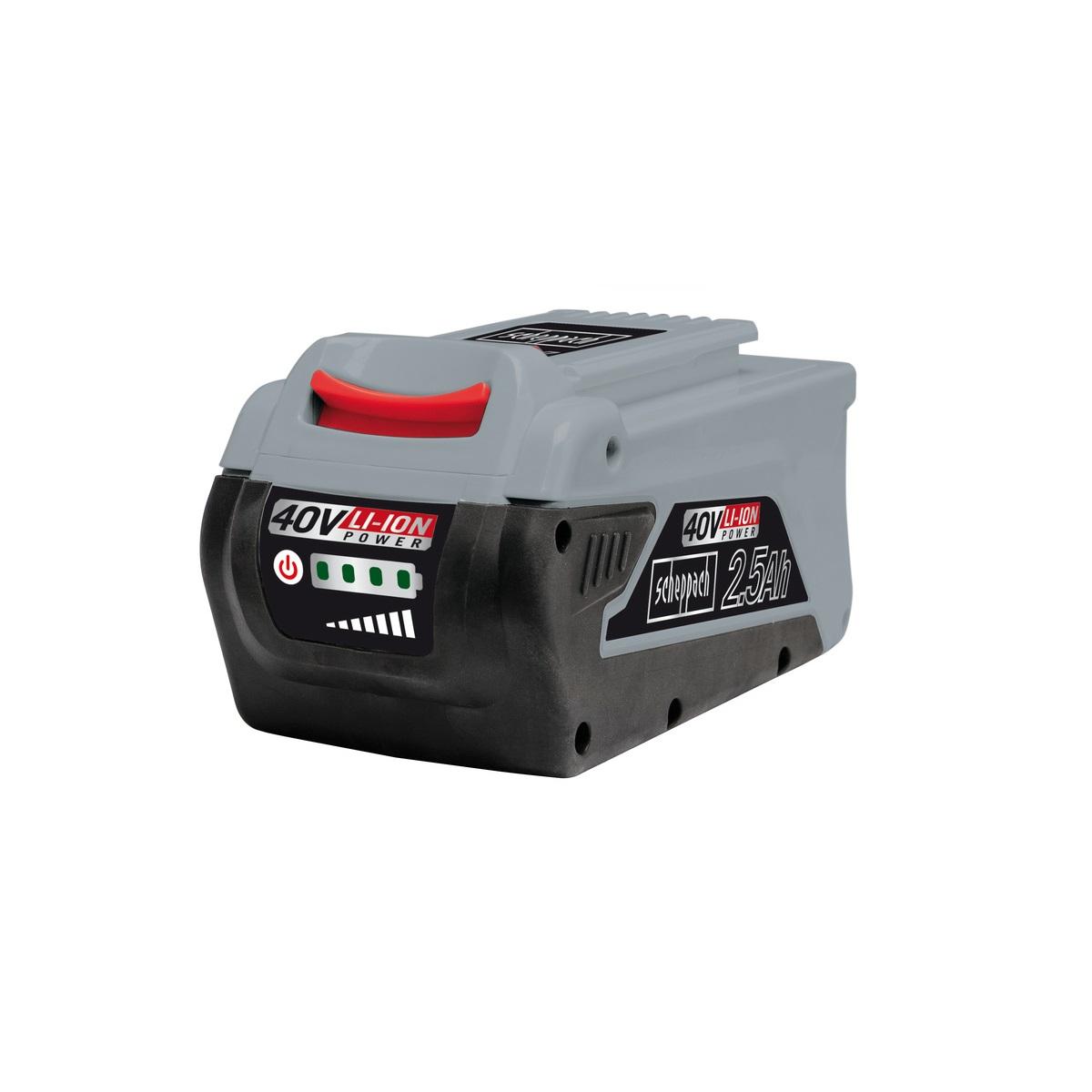 Scheppach BPS2540Li, bateria 40 V (2,5 Ah)