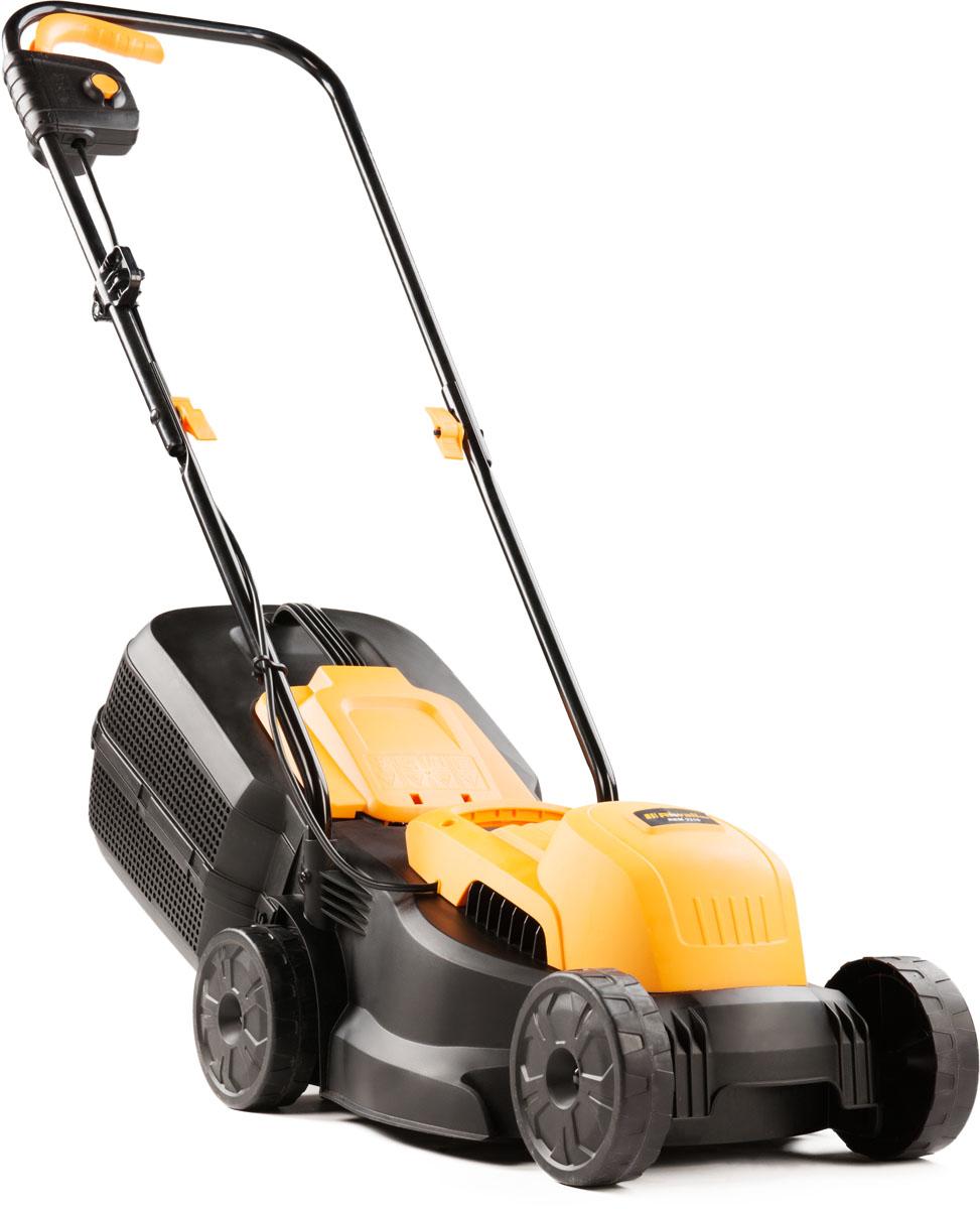 Riwall PRO REM 3210, trávna kosačka s elektrickým motorom 2 v 1