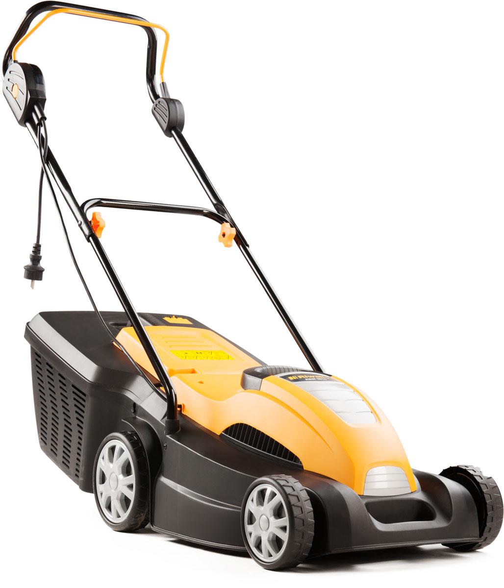 Riwall PRO REM 3816, trávna kosačka s elektrickým motorom 2 v 1