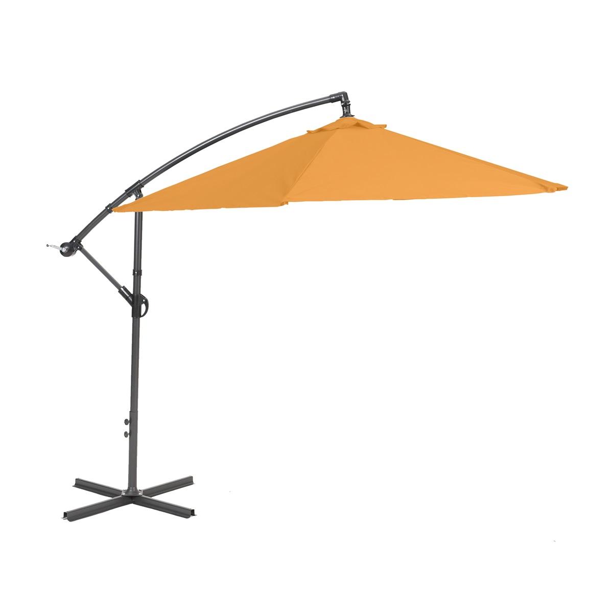 Garland Miami, boční slunečník 2,7 m (oranžový)