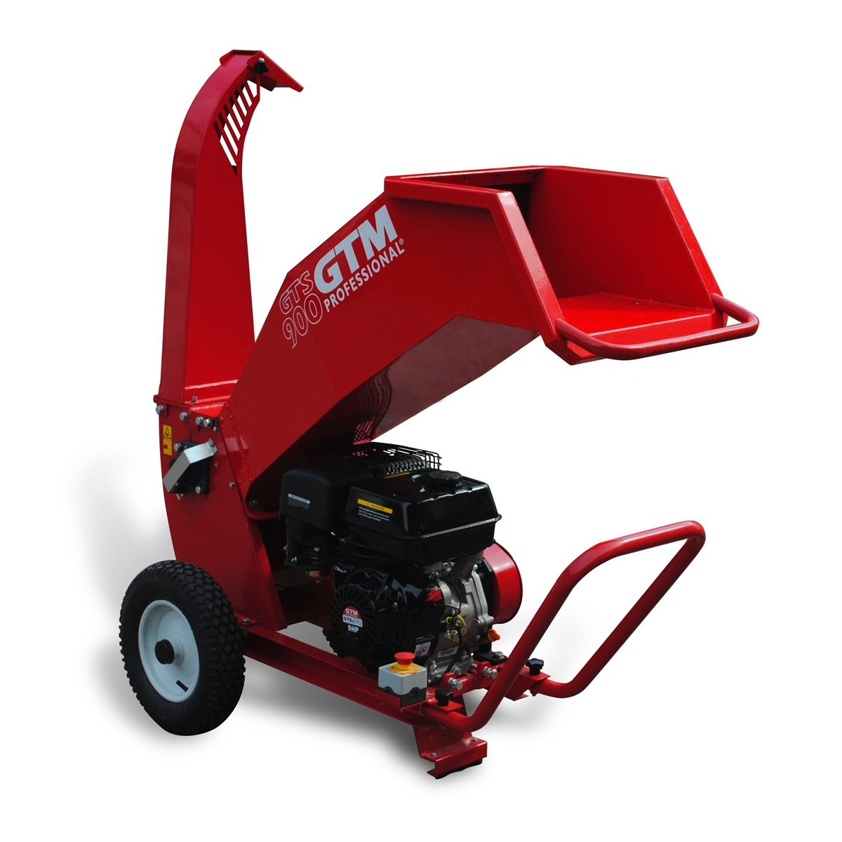GTM GTS 900G, drtič dřeva s benzinovým motorem