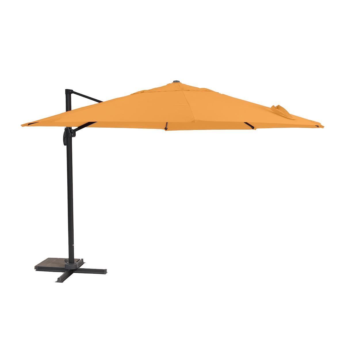 Creador Roma, boční slunečník 3,5 m (oranžový)