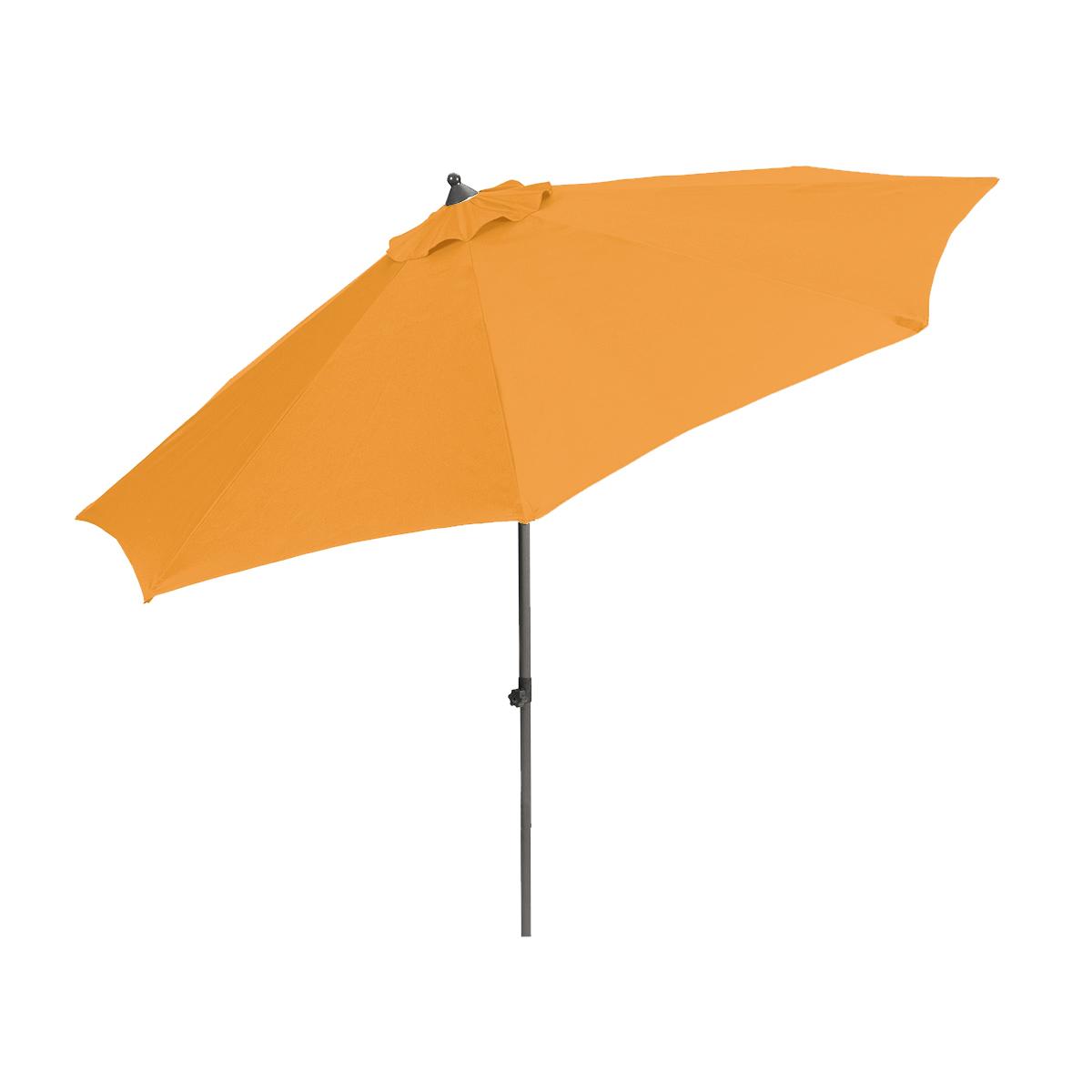 Creador Venice, středový slunečník 2,7 m (oranžový)